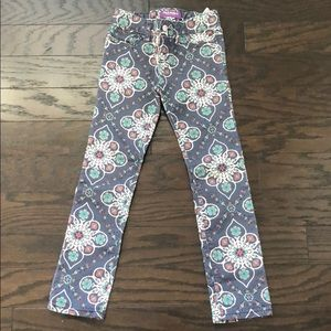 Girls Pants with Tribal Inspired Design